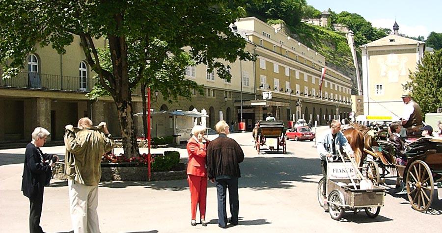 Salzburg festival halls