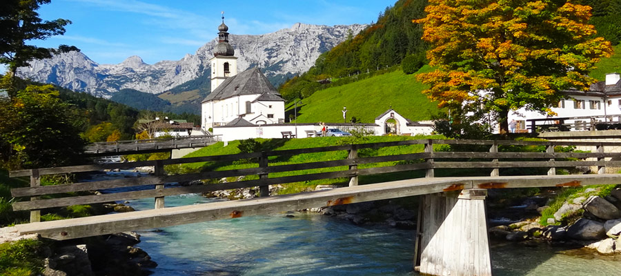 Berchtesgaden Ramsau Church