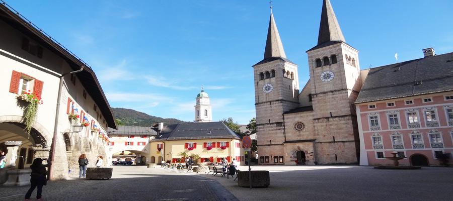Schlossplatz, Berchtesgaden