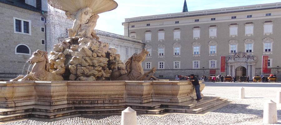 Horse fountain Salzburg