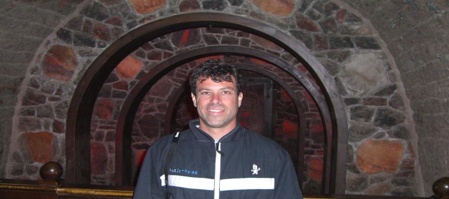 Harriman in Berchtesgaden salt mines