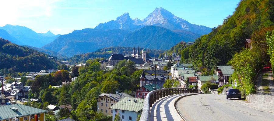 Berchtesgaden and its wonderful Watzmann