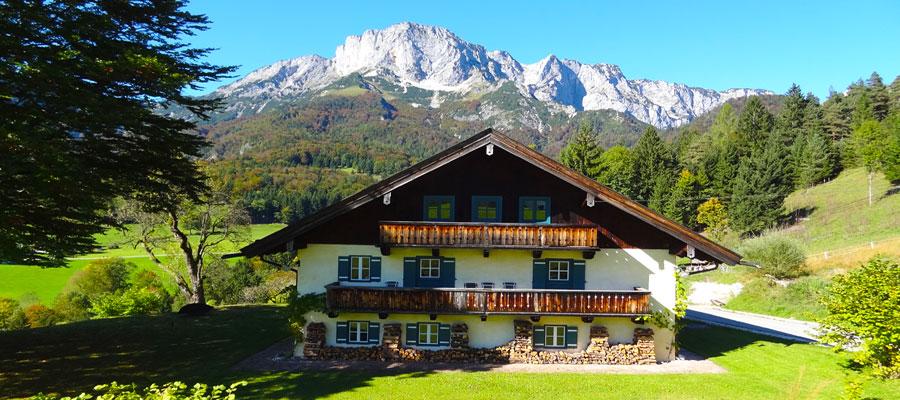 Berchtesgadener Land chalet