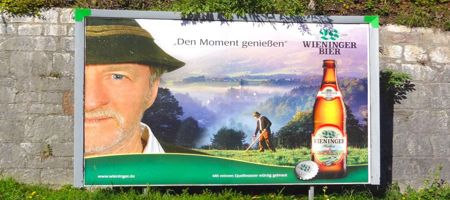 Harriman's favorite Berchtesgadener Land Bier