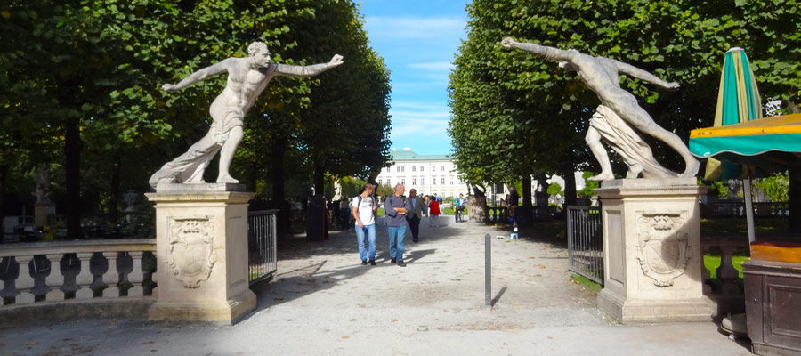 Mirabell statues