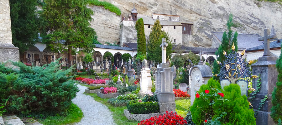 Sound of Music cemetery