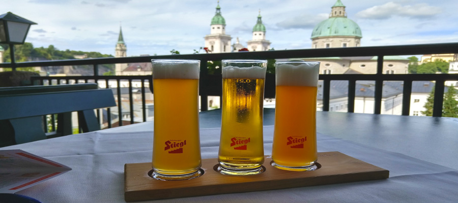 Stiegl in Salzburg means beer