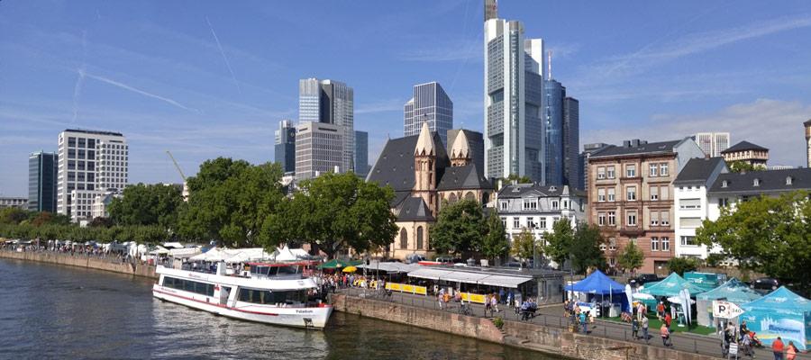 Frankfurt riverside