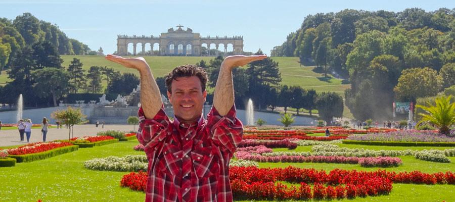 Harriman at Schloss Schönbrunn