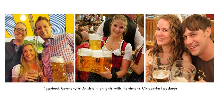 piggyback Oktoberfest with Harriman