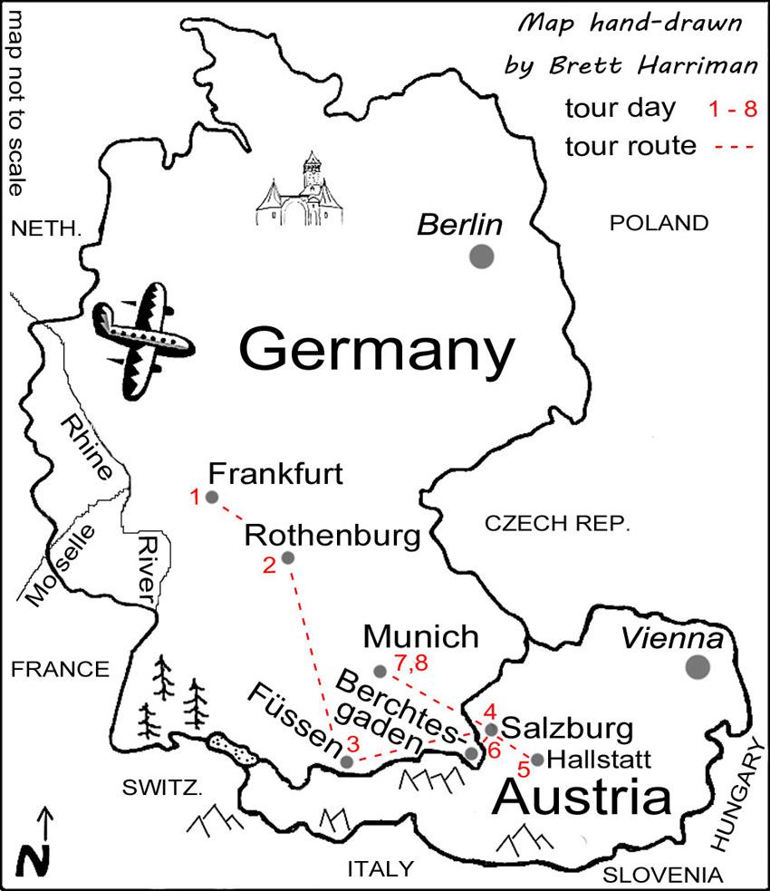 Join travel writer Brett Harriman on his Germany & Austria ...