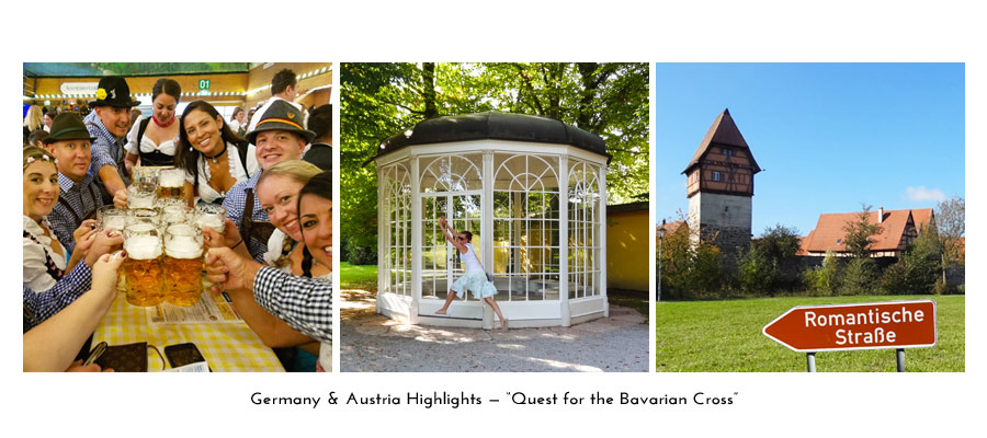 Quest for the Bavarian Cross tour