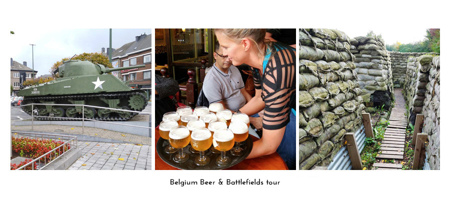 Belgium Beer & Battlefields tour