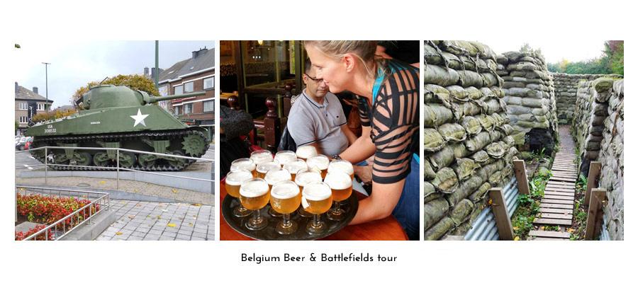 Belgium Beer & Battlefields tour