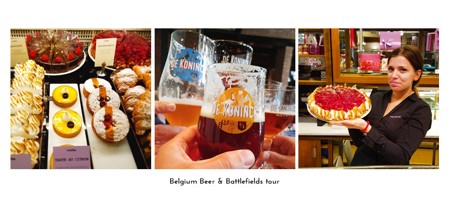 Belgium Beer & Battlefields tour package