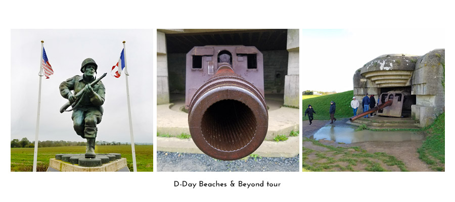 Normandy D-Day beaches tour