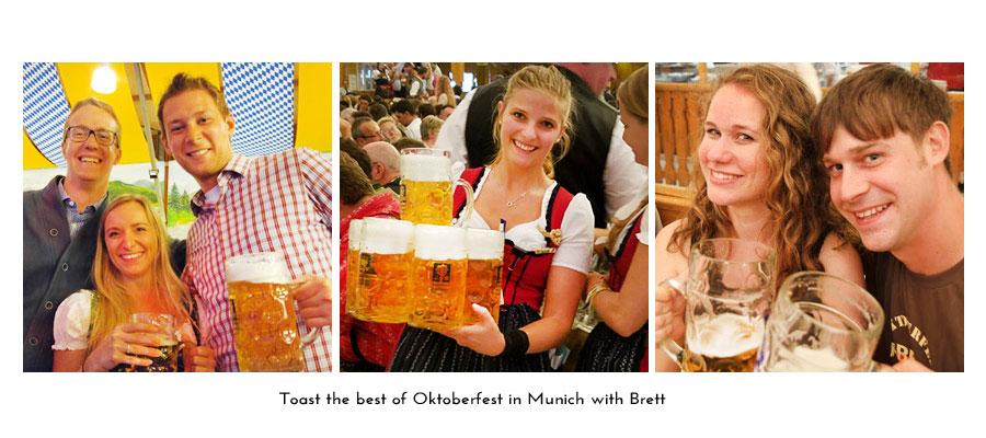 Oktoberfest in Munich with Brett